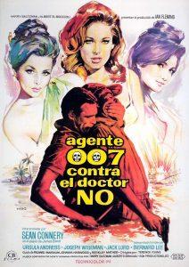Póster de la película Agente 007 contra el Dr. No
