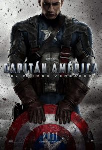 Póster de la película Capitán América: El primer vengador