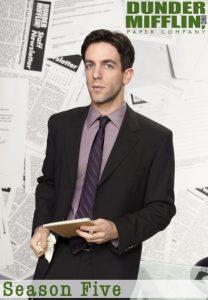 Póster de la serie La Oficina (The office) Temporada 5