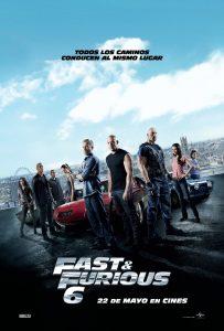 Póster de la película Fast & Furious 6