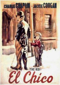 Póster de la película El chico (1921)