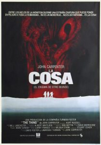 Póster de la película La cosa (The Thing)