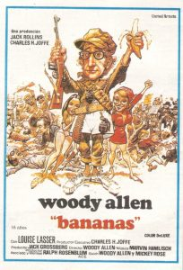 Póster de la película Bananas (1971)