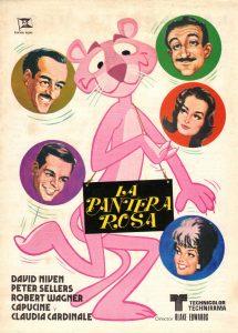 Póster de la película La pantera Rosa (1963)