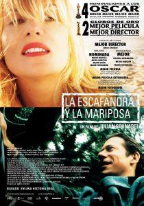 Póster de la película La escafandra y la mariposa
