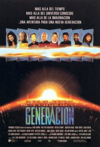 Póster de la película Star Trek VII: La próxima generación