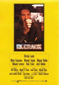 Póster de la película El crack (1981)
