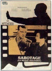 Póster de la película Sabotaje (La mujer solitaria)