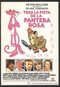 Póster de la película Tras la pista de la pantera rosa