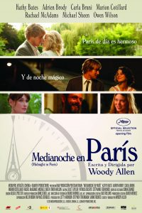 Póster de la película Medianoche en París