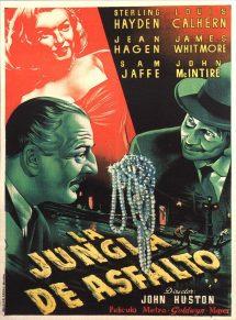 Póster de la película La jungla de asfalto