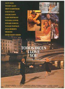 Póster de la película Todos dicen I love you