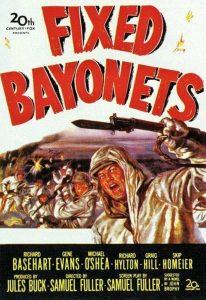 Póster de la película A bayoneta calada