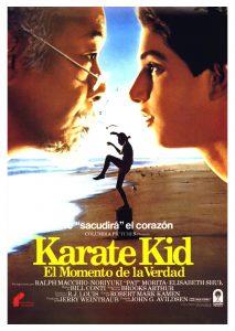 Póster de la película Karate Kid, el momento de la verdad
