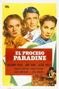 Póster de la película El proceso Paradine