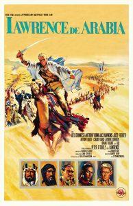Póster de la película Lawrence de Arabia