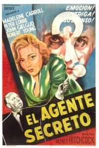 Póster de la película El agente secreto (1936)