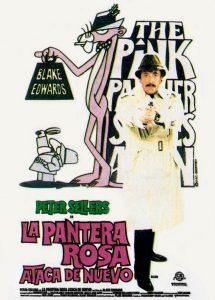 Póster de la película La pantera rosa ataca de nuevo