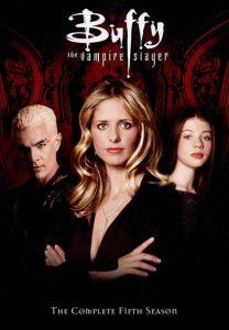 Póster de la serie Buffy, la cazavampiros Temporada 5