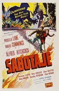 Póster de la película Sabotaje (1942)