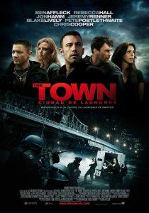 Póster de la película The Town. Ciudad de ladrones