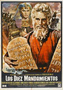 Póster de la película Los diez mandamientos