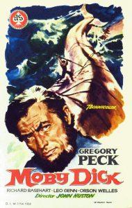 Póster de la película Moby Dick (1956)