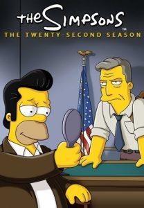 Póster de la serie Los Simpson Temporada 22