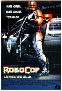 Póster de la película Robocop (1987)