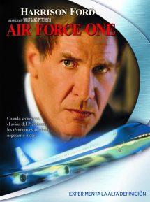 Póster de la película Air Force One (El avión del presidente)