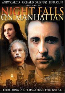 Póster de la película La noche cae sobre Manhattan