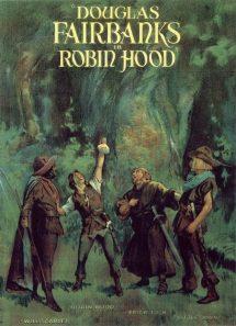 Póster de la película Robin de los bosques (1922)