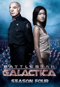Póster de la serie Battlestar Galactica Temporada Final 4