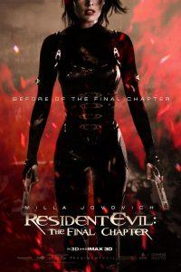 Póster de la película Resident Evil 6: El capítulo final
