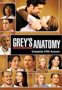 Póster de la serie Anatomía de Grey Temporada 5