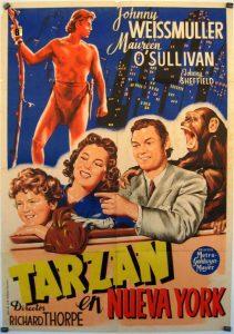 Póster de la película Tarzán en Nueva York