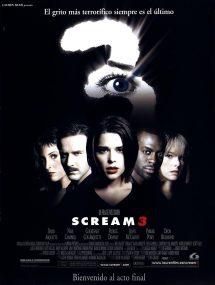 Póster de la película Scream 3