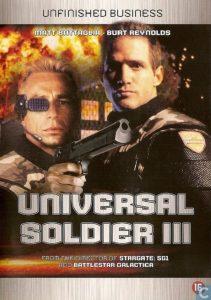Póster de la película Soldado universal 3. Desafío final