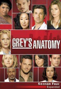 Póster de la serie Anatomía de Grey Temporada 4