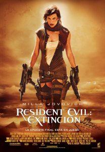 Póster de la película Resident Evil 3: Extinción