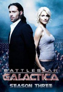 Póster de la serie Battlestar Galactica Temporada 3