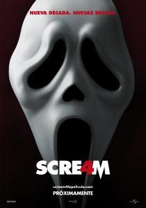 Póster de la película Scream 4