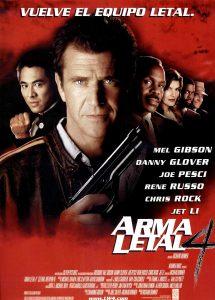 Póster de la película Arma letal 4