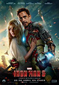 Póster de la película Iron Man 3