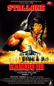 Póster de la película Rambo III