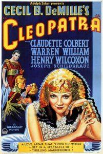 Póster de la película Cleopatra (1934)