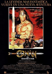 Póster de la película Conan, el destructor