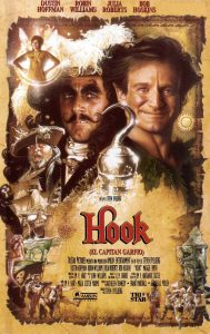 Póster de la película Hook (El capitán Garfio)