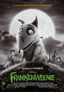Póster de la película Frankenweenie
