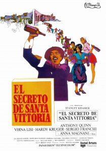 Póster de la película El secreto de Santa Vittoria